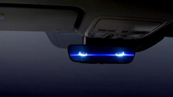 Auto dimmer rear view mirror